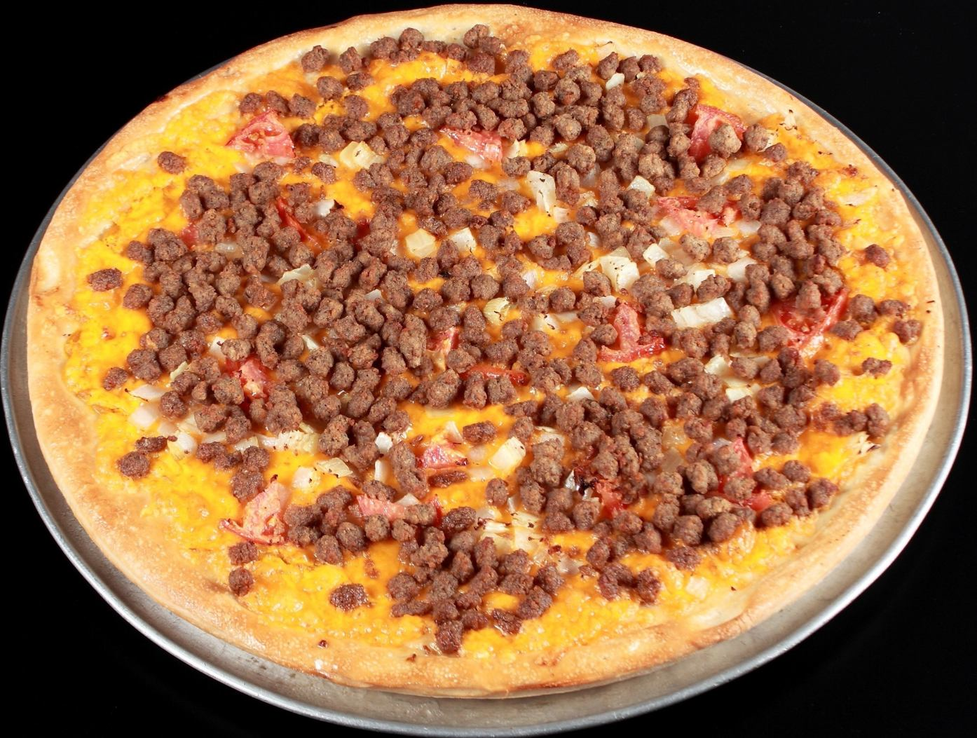 Pizza Planet Cheeseburger Pizza