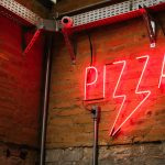 red neon pizza jokes